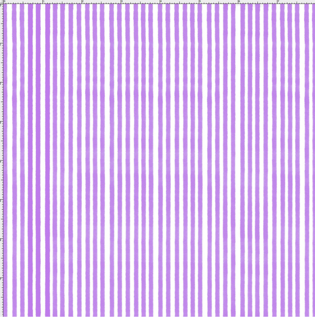 【Loralie Designs】- Lazy Stripe Purple / White Fabric  (ULH-346)