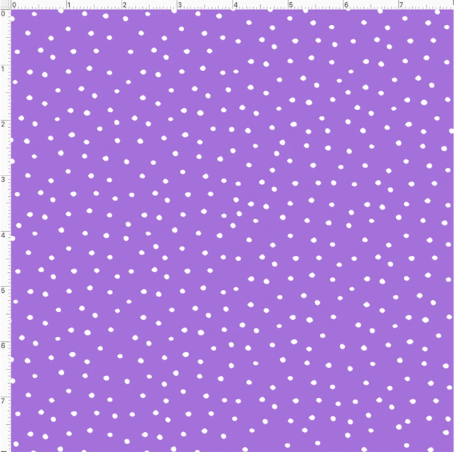 【Loralie Designs】- Dinky Dots Lilac / White-(ULH-371)