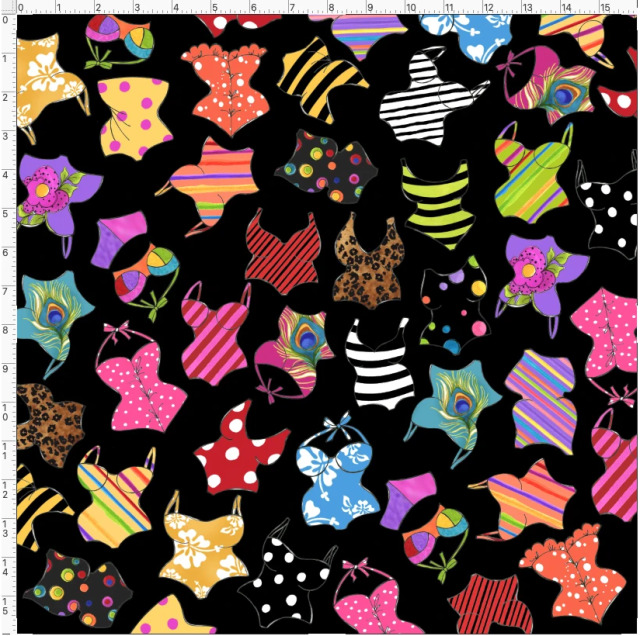 【Loralie Designs】- Assorted Suits Black -(ULH-385)