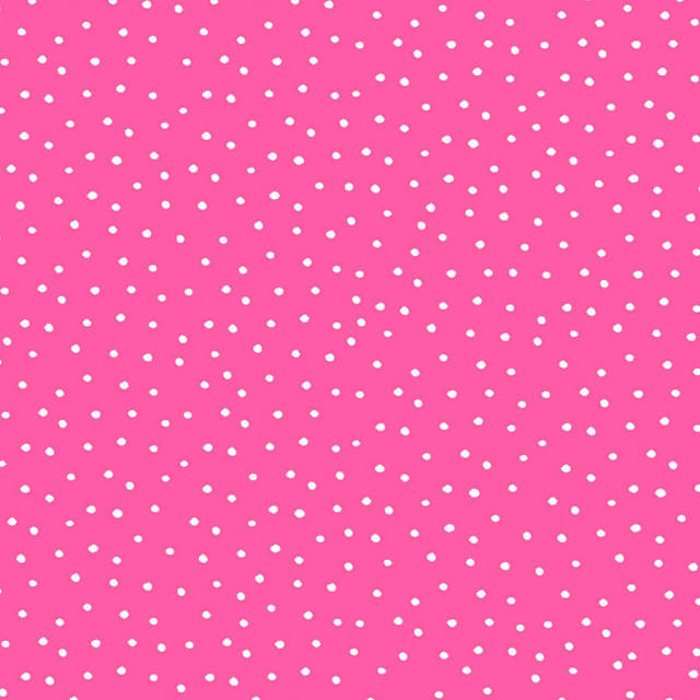 【Loralie Designs】- Dinky Dots Bright Pink / White Fabric -(ULH-183)