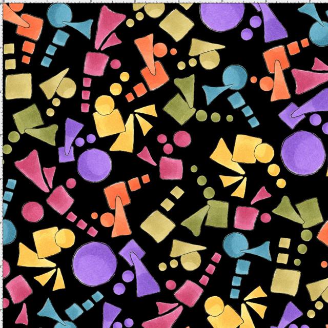 【Loralie Designs】-Cosmic Candy Black  -(ULH-227)
