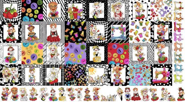 【Loralie Designs】Medley Sew Curious (ULH-228)