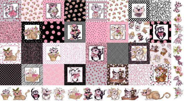 【Loralie Designs】Medley Fancy Cats  (ULH-232)