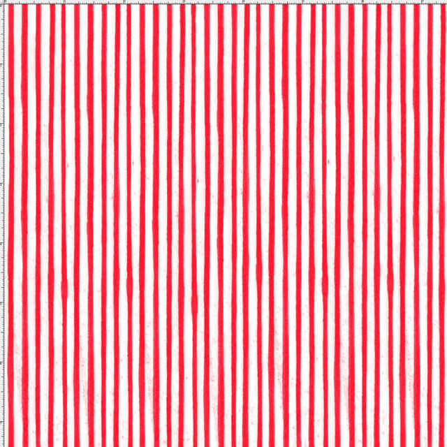【Loralie Designs】-Sweet Stripe/red-(ULH-249)