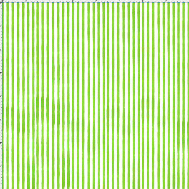 【Loralie Designs】-Sweet Stripe/Lime-(ULH-251)