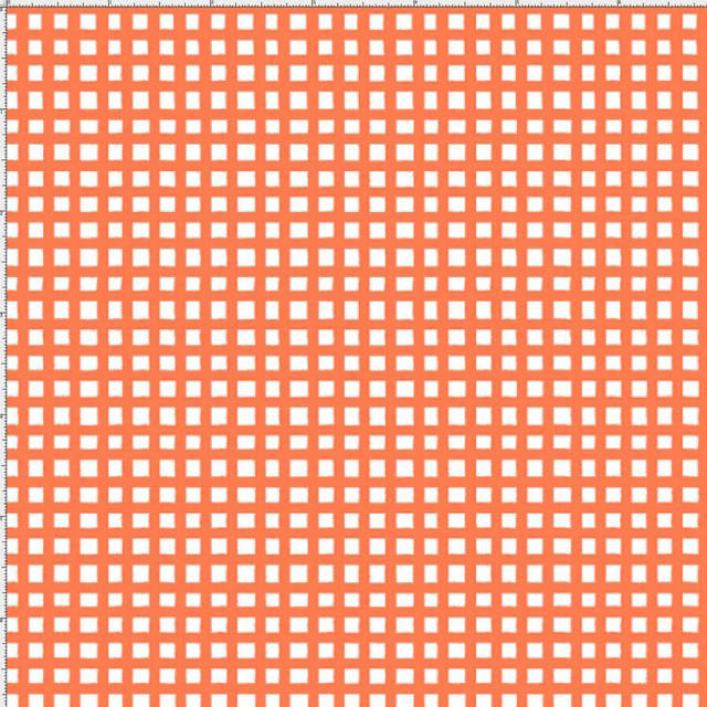 【Loralie Designs】-Chipper Check/Orange-(ULH-252)