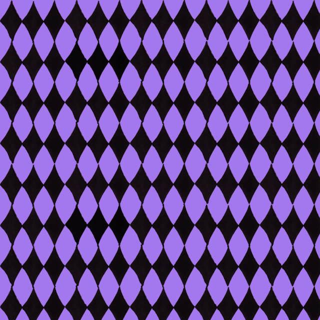 【Loralie Designs】Diamond Purple / Black(ULH-271)