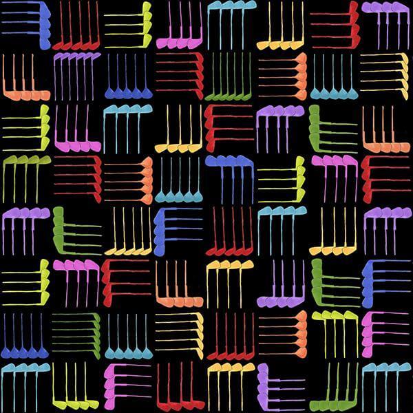 【Loralie Designs】Club Weave Black(ULH-286)