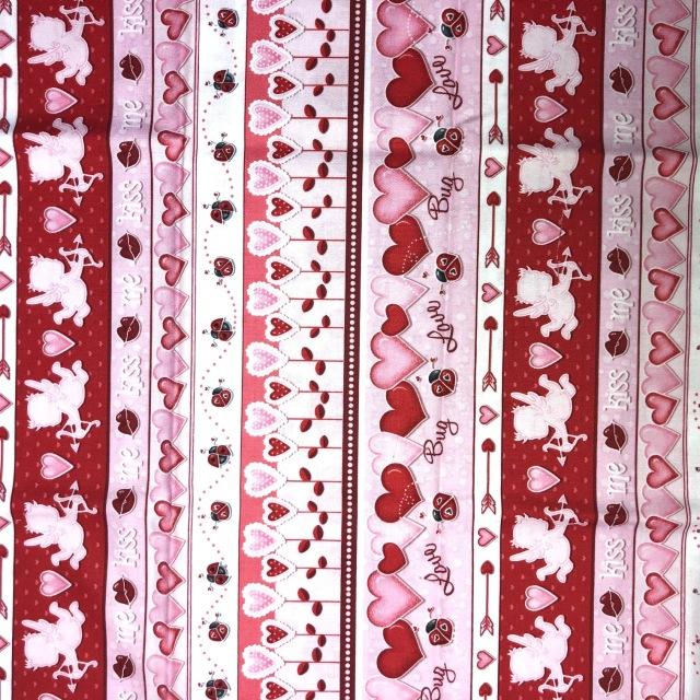 【その他プリント】 Angel Heart Border /Pink(UOTS-015)