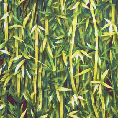 植物・葉っぱ柄 50x110cm(UOTS-400H)