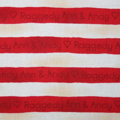 【USA】Raggedy Ann & Andy 50x55cm(URA-005)