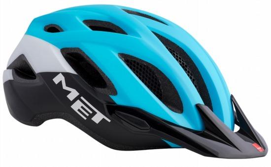 MET CROSSOVER CYANBLACK メット クロスオーバー シアンブラック シティバイク用 ヘルメット