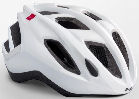 Road Bike Cycle Helmet MET Espresso Safety Yellow