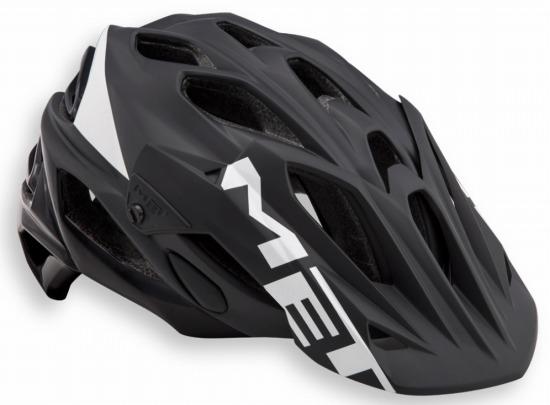 MET HELMET PARABELLUM BLACKWHITE  メット  パラベルム ブラックホワイト マウンテンバイク用