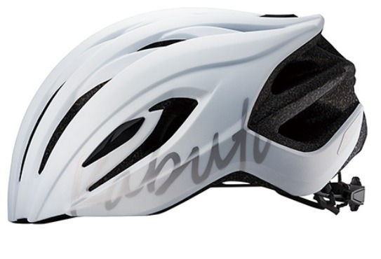 OGK KABUTO HELMET RECT LADIES LOGO MAT PAERL WHITE OGK カブト ヘルメット レクト レディース ロゴ マットパールホワイト