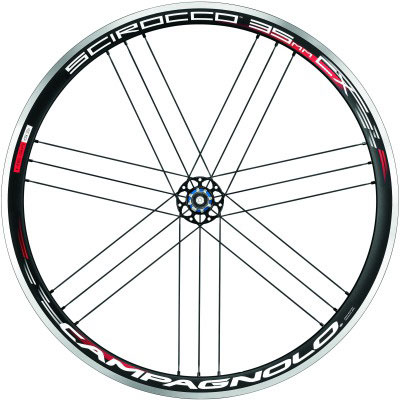 CAMPAGNOLO 2015 SCIROCC 35 CX WO REAR WHEEL(カンパニョーロ シロッコ シクロクロス クリンチャー リア ホイール)