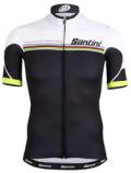 Santini UCI RAINBOW LINE JERSEY サンティー二 半袖ジャージ 春夏用 ユーシーアイ レインボーライン 半袖ジャージ