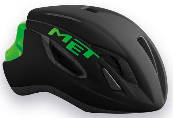 MET STRALE  GREEN  メット ストラーレ ブラックグリーン ロードバイク用 ヘルメット
