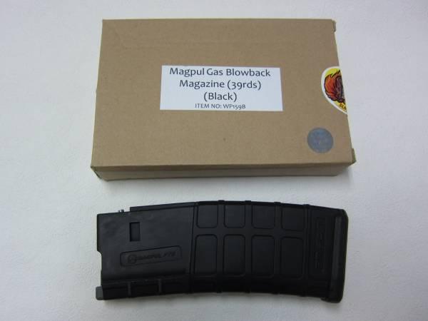 WA用 G&P製M4マグプルPマグ39連マガジンBK新品