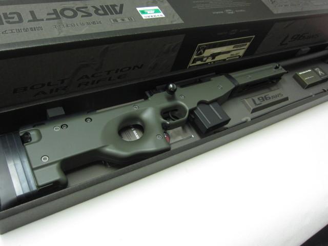 東京マルイL96 AWS O.D.ストック新品