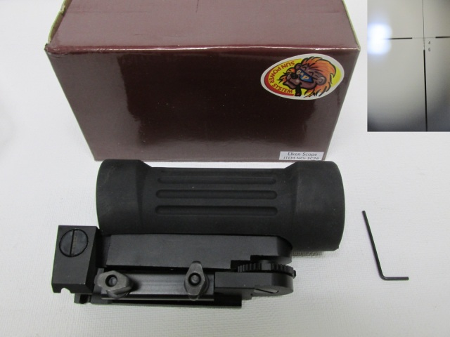 G&P製 ELKEN 4X タクティカルライフルスコープ新品