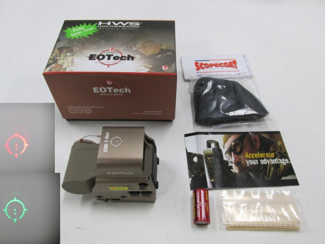 EoTech 558タイプ QDマウント新品DE