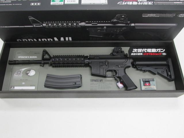 東京マルイ次世代電動ガンSOPMOD M4新品