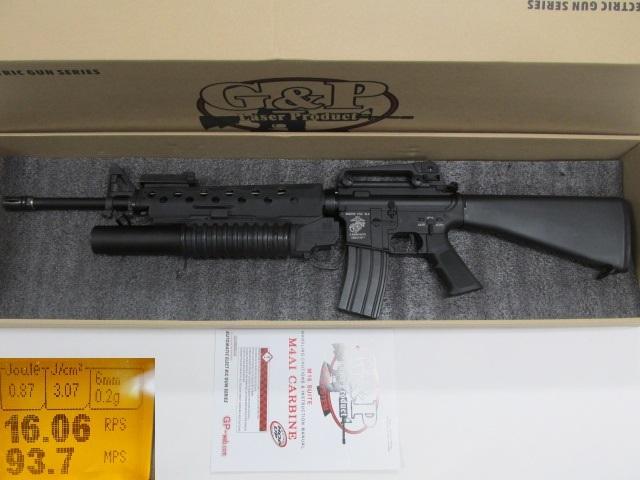 G&P★M16A3 M203電動ガン新品M