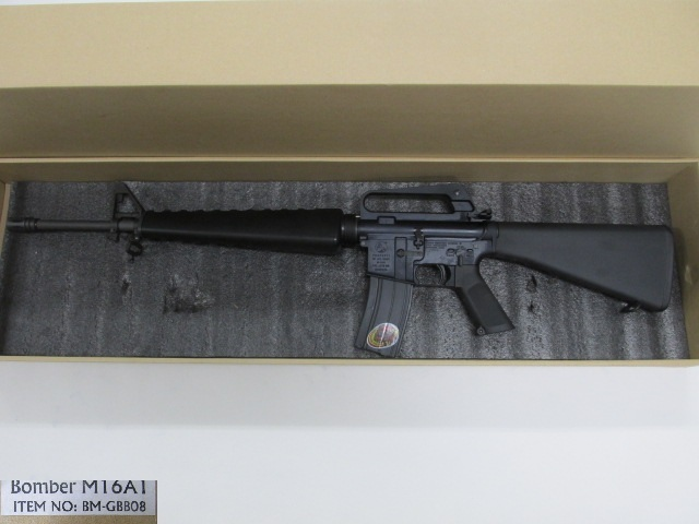 G&P Bomber M16A1 GBB新品