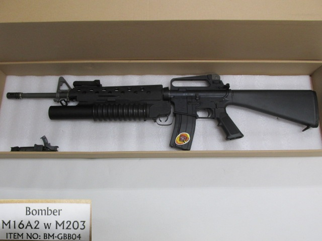 G&P Bomber M16A2 with M203(Limited Edition)GBB新品