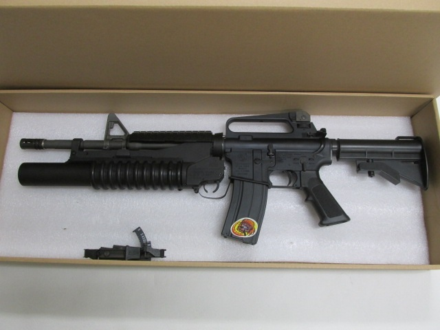 G&P Bomber M16A2 Shorty with M203(Limited Edition)GBB新品