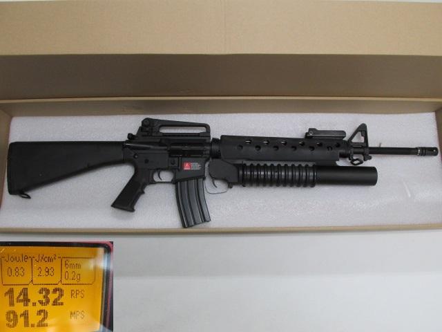 G&P★M16A3 M203電動ガン新品