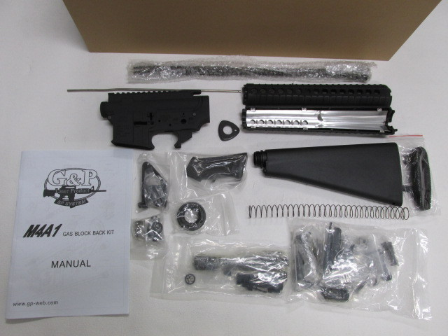 G&P WOK M16A4 GBB組立KIT新品