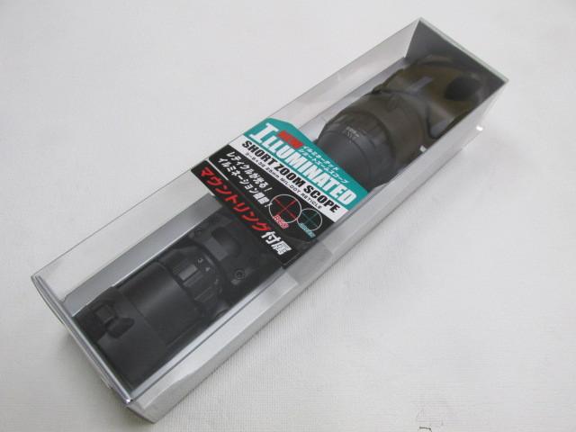 東京マルイ製NEWイルミネーテッド・ショートズームスコープ(3~9×32mm)新品