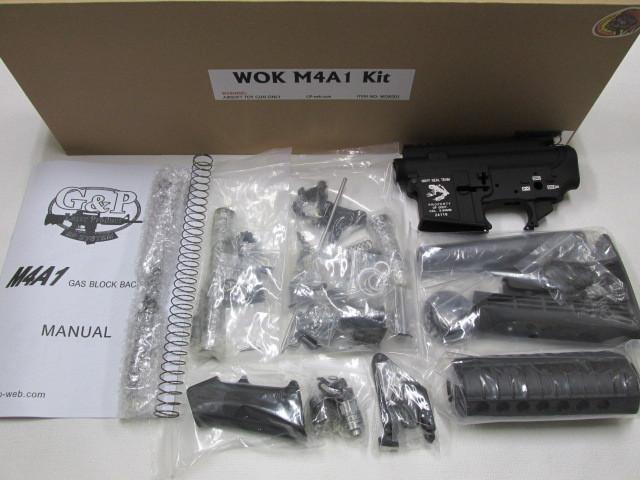 G&P WOK M4A1CQB GBB組立KIT新品
