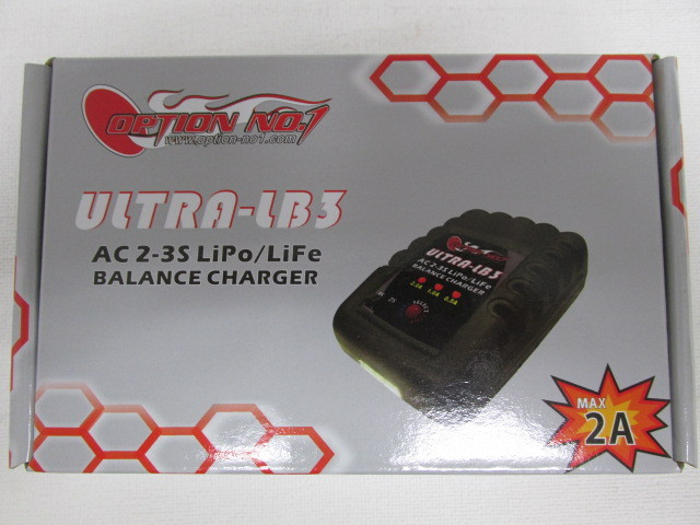 オプションNO1製AC リポ/リフェバランスチャージャー新品