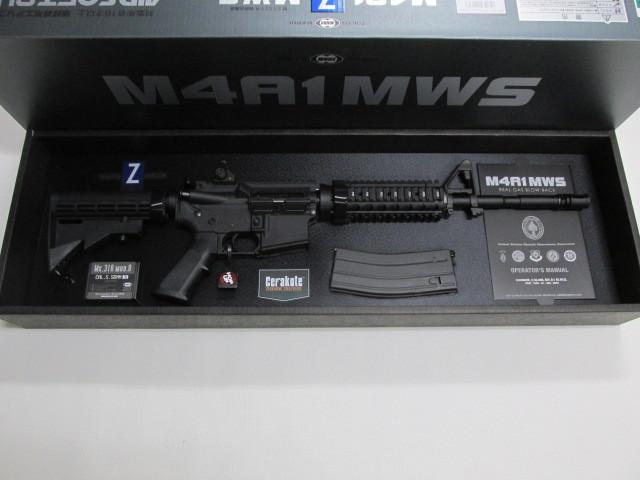 東京マルイM4A1MWSガスブローバック新品