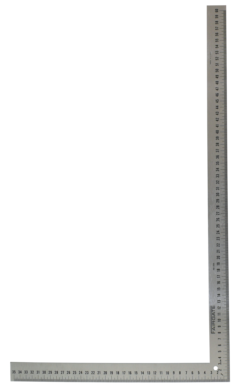 USAアルミ合金角尺 60cm ※cm表記