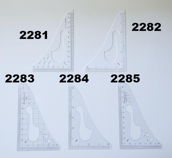 縮尺三角定規 各種