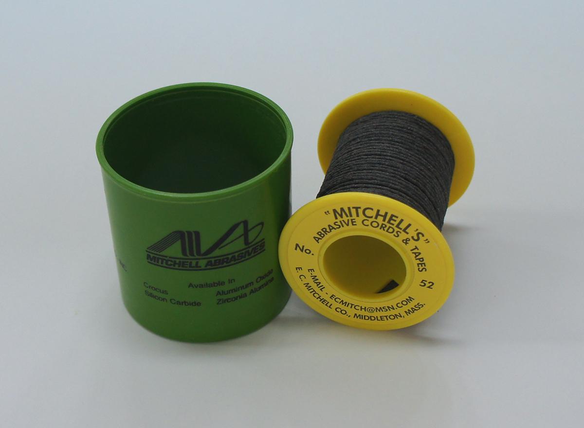 《MITCHELL'S》 ミッチェルコード USA ひもヤスリ 52番1.40mmΦx15m巻 150番