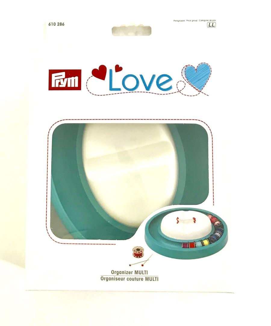 《Prym》プリム ドイツ マグネット・ピン&ボビンキーパーDX 170mm×140mm×40mm PRYM Magnetic Pin&Bobbin Cushion DX  マグネットピンクッション
