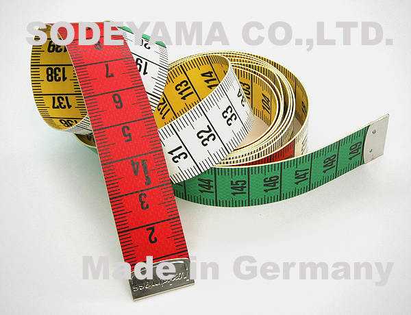 2782  ドイツ製 ヘキストマス hoechstmass レインボーメジャー 150cm cm/cm
