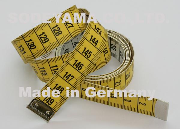 2783 ヘキストマスhoechstmassイエロー&ホワイトメジャー150cm