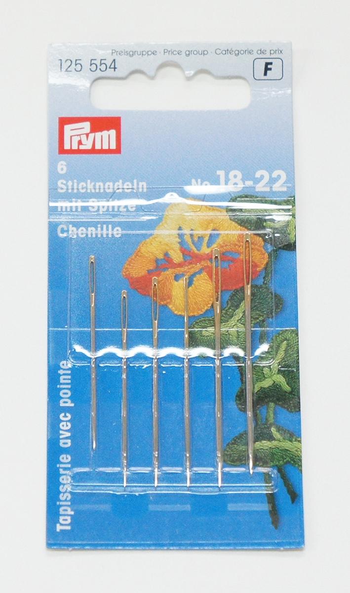 6789 PRYMドイツ・シェニール専用針6本セット