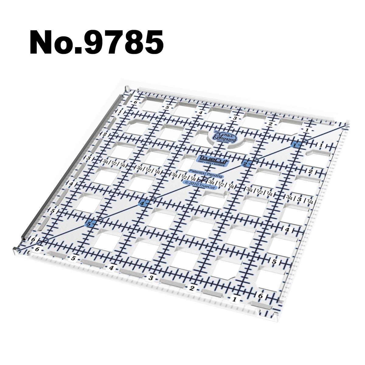 9785 ガイドカッター定規トゥルーカッター専用定規ロータリーカッター定規