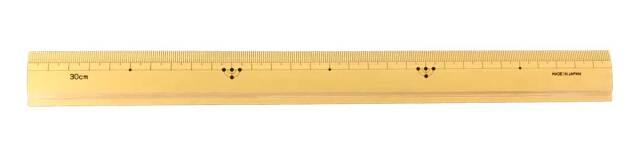 高級竹尺 30cm 標準巾