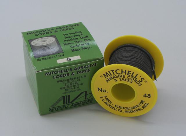 《MITCHELL'S》 ミッチェルコード USA ひもヤスリ 48番2.36mmΦx15m巻 150番