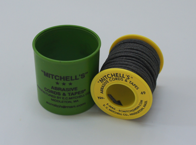 《MITCHELL'S》 ミッチェルコード USA ひもヤスリ 51番1.40mmΦx15m巻 120番