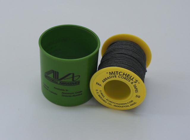 《MITCHELL'S》 ミッチェルコード USA ひもヤスリ 50番1.78mmΦx15m巻 180番