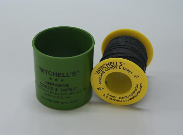 《MITCHELL'S》 ミッチェルテープ USA テープヤスリ 56番2.38mm巾x15m巻 150番